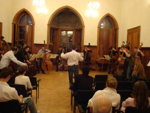 1. Kontrabasový workshop Ivanka pri Dunaji r. 2010