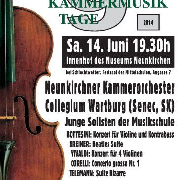 Koncert Collegium Wartberg Young a Neunkirchner Kammerorchester, Neunkirchen (Rakúsko)
