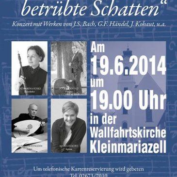 """Koncert """"Weichet nur, betrubte Schatten"""""""