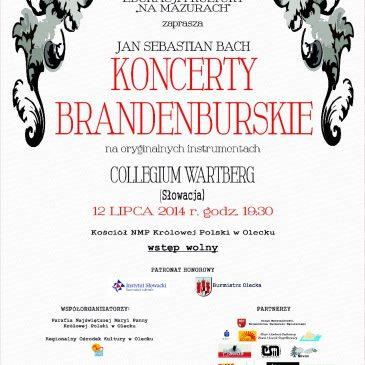 Koncert Collegium Wartberg, Olecko, Poľsko