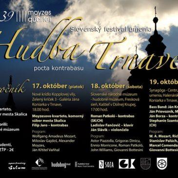 "Bass Band, Roman Patkoló a Filip Jaro – 3 koncerty ""pocta kontrabasu"" na festivale Hudba Trnave"