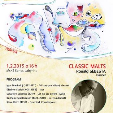 MPI CLASSIC MALTS – Ronald Šebesta