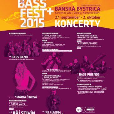 koncerty BASS FEST+2015