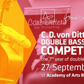 7th year of international Double Bass competition of Carl Ditters von Dittersdorf