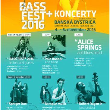 BASS FEST+2016 Concerts