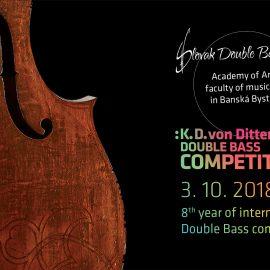 Medzinárodná kontrabasová súťaž K. D. von Dittersdorfa 2018