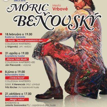 Festival of Móric Beňovský in Vrbové