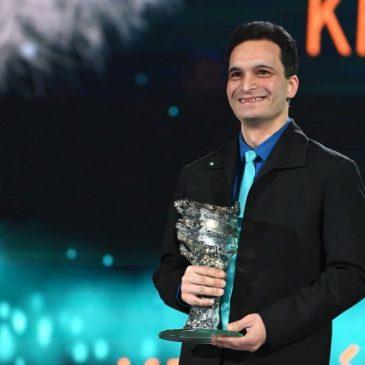 "Roman Patkoló získal ""Krištálové krídlo"" v kategórii umelec roka 2018."
