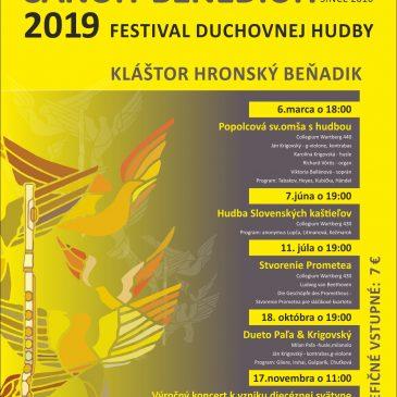 Musica Perennis Sancti Benedicti 2019