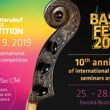 International Double Bass competition of C. D. von Dittersdorf (9th year)