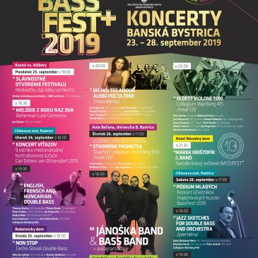 BASS FEST+2019 Koncerty