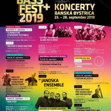 BASS FEST+2019 Concerts